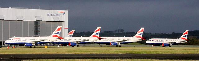 BA A319s