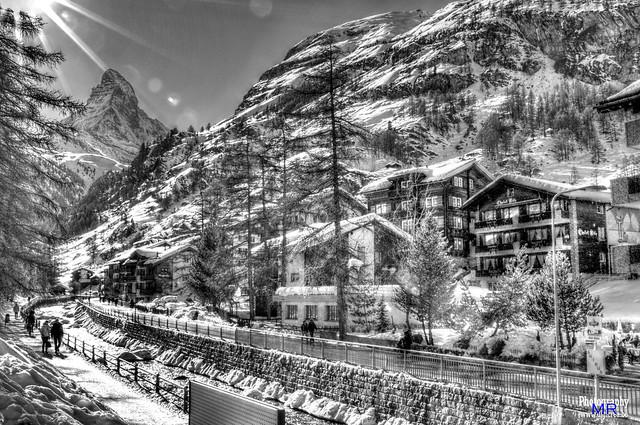 Matterhorn-Zermat-Snow-Landscape