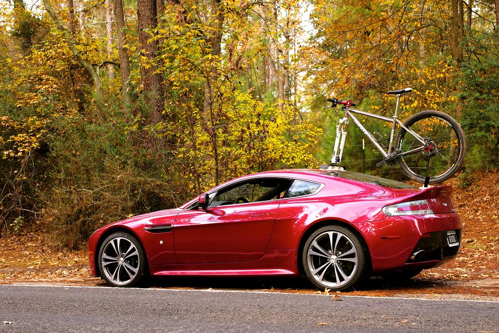 Aston Martin Db9 Tow Bar And Ski Rack 6speedonline