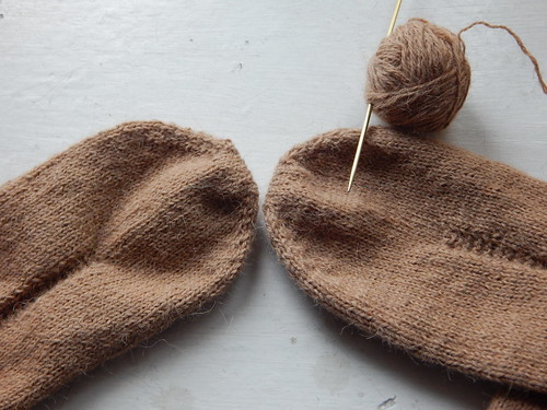 носки два вместе