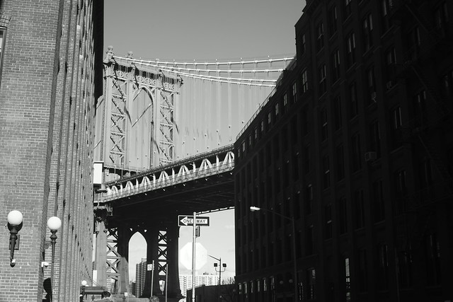 Manhattan Bridge & Brooklyn Bridge, NY, 25 Dec 2014. 111