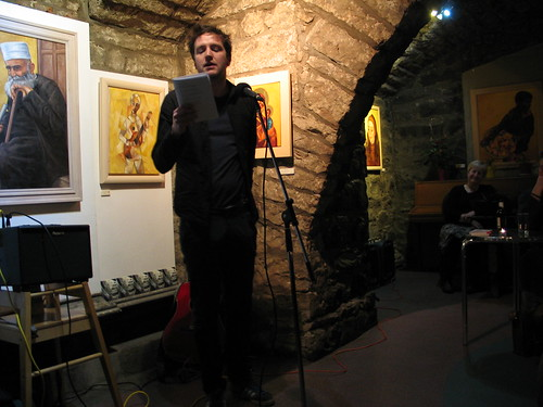 "Shore Poets vs Be The First To Like This ""Quiet Slam"" for Book Week Scotland: Colin McGuire"