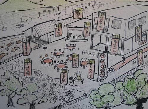「謝平安」是秋季至年末舉辦的慶典。(圖片取材自網站:2014「收冬豐田」迎新年)