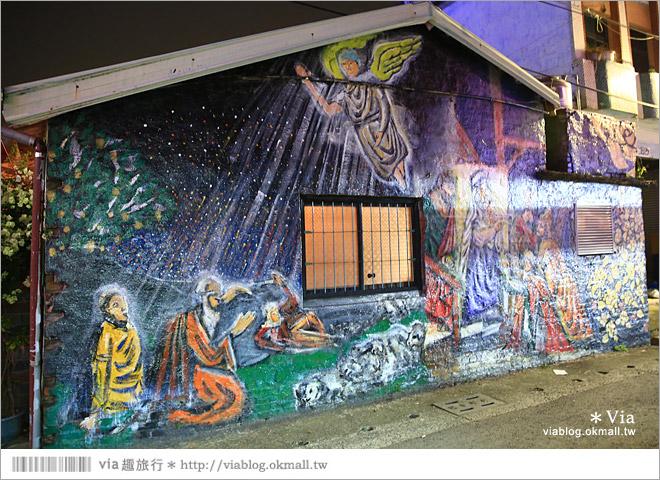 【萬金教堂】屏東萬金教堂聖誕季~3D光雕秀+耶誕地景藝術/全台最濃耶味小鎮!49