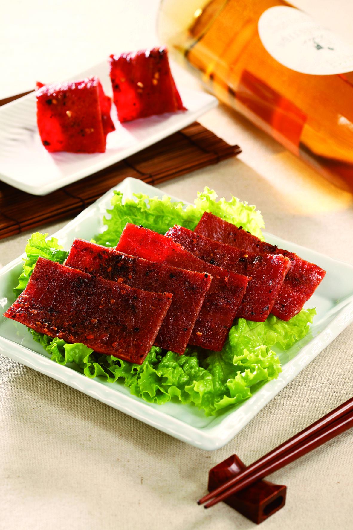 辣味豬肉乾600g