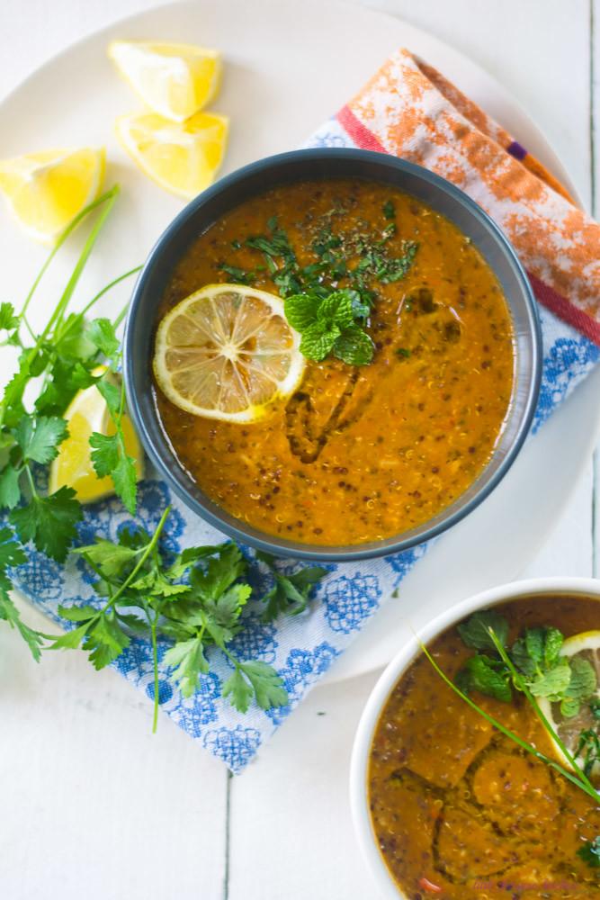 Turkish Lentil Soup via LittleFerraroKitchen.com