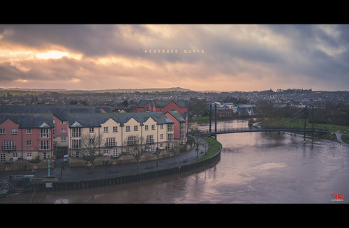 uk travel bridge houses sunset england english 35mm river nikon devon exeter nikkor cinematic quays d800 dockyard exe f2d