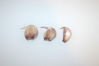 03 - Zutat Knoblauch / Ingredient garlic