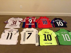 Soccer Jersey Collection!