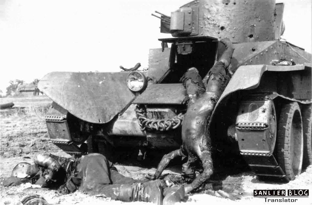 坦克战:活活烧死04