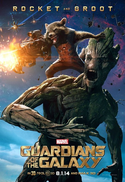 poster rocket and groot