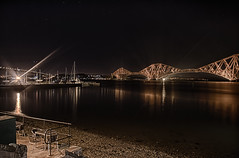 Forth Bridg at Night