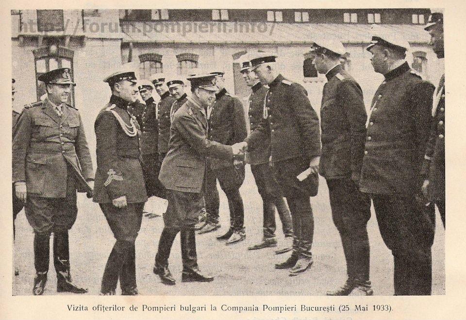Vizita pompieri 1933