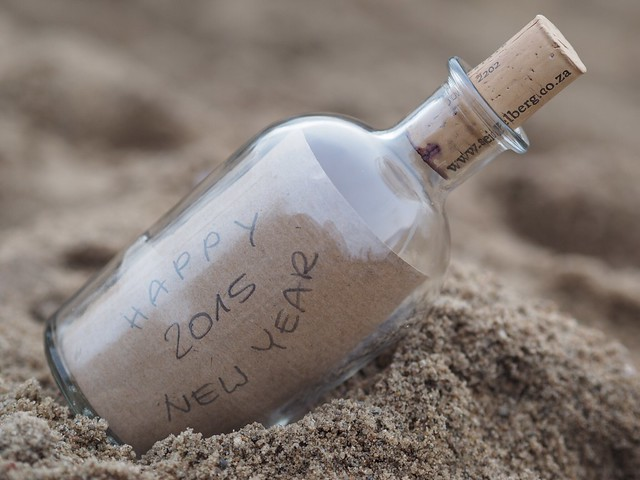 Message in a bottle 2015