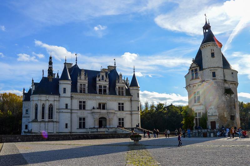 Château de Chenonceau Main Courtyard