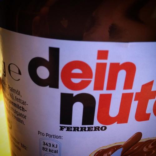 Dein Nutella
