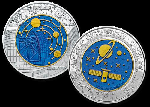 Austria Coin on Cosmology