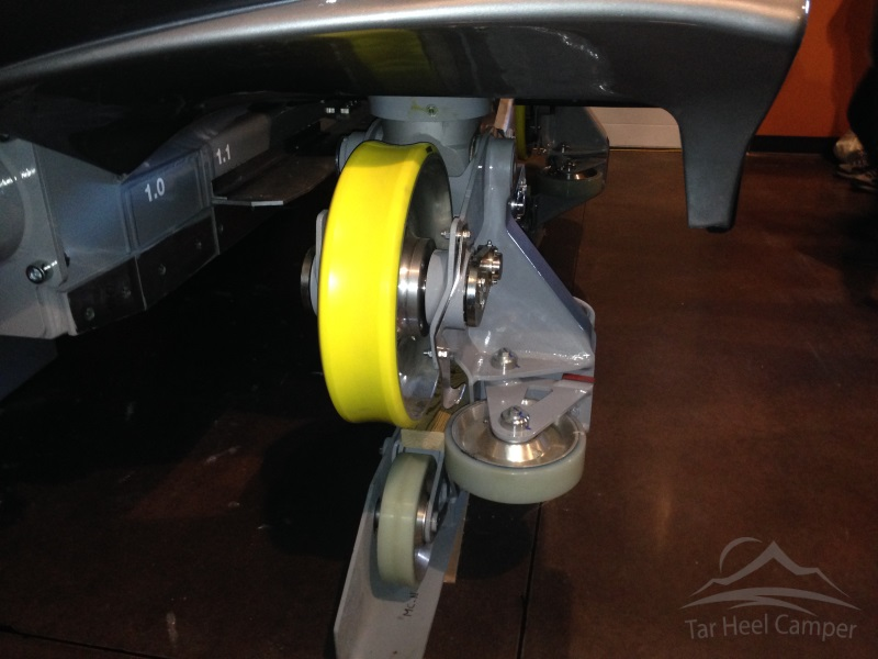 Winter Warm Up 2015 - Fury 325 train wheel