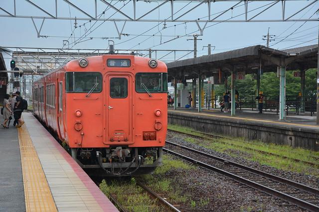 キハ47 95、幡生駅