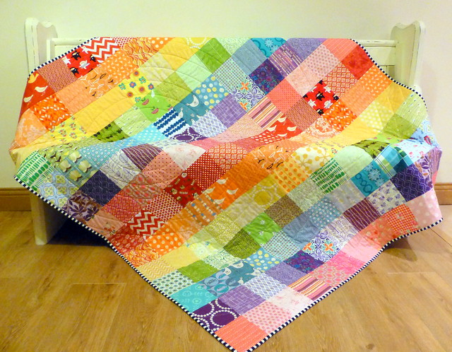 Eye Spy on Rainbows Quilt