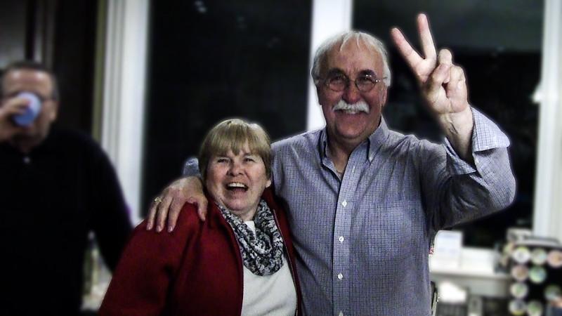 Marilyn Kerton and Eric Megarity
