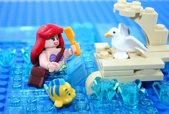 Lego The Little Mermaid Dinglehopper