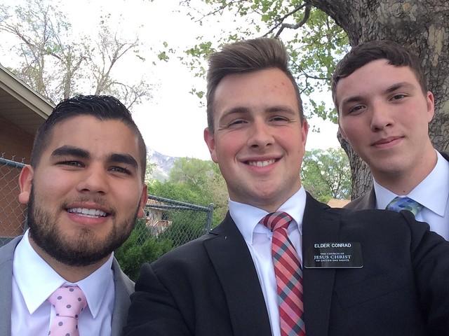 José from Florida?, Elder Conrad, and Elder Hall
