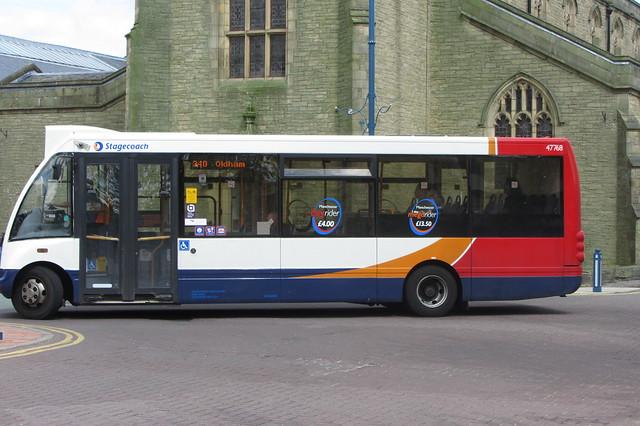 Stagecoach Manchester, Optare Solo PO56 RNY, Stalybridge