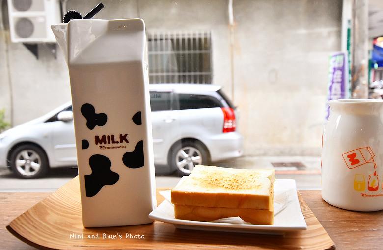 台中早午餐原三十木瓜牛奶11