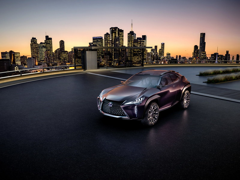 UX - Lexus будущего