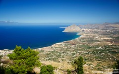 View from Erice looking NE