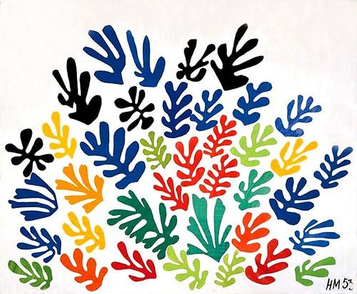 Les gouaches découpées de Matisse au MoMA : le mystère de la ...