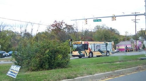 Route 1 Ride bus, Hyattsville, Maryland