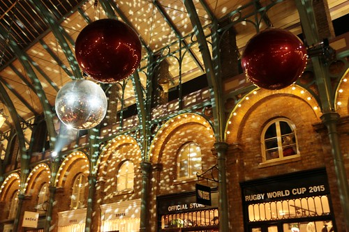 Covent Garden: decorazioni natalizie