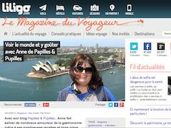 Le magazine du voyageur - Voir le monde et y goûter avec Anne de Papilles et Pupilles