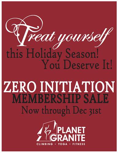 Zero Init - December Holiday Sale