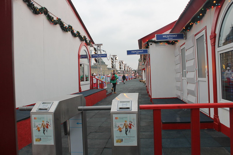 Каток на Красной площади
