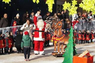 Noicattaro. Caldarazzo festeggia il Natale 2014 front