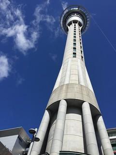 Sky Tower is an Auckland landmark