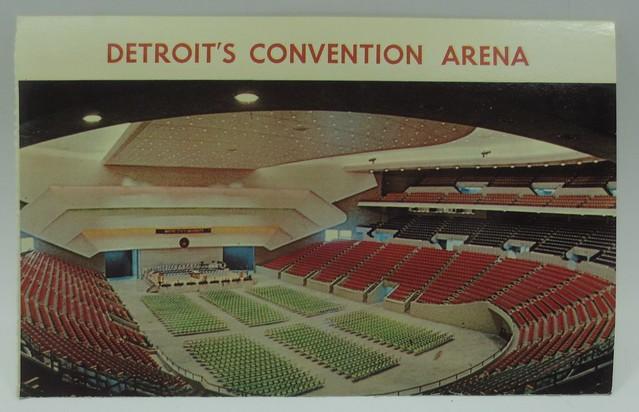 Detroit's Convention Arena