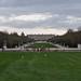Bassin du char d'Apollon and the Chateau de Versailles from the Parc de Versailles in Versailles