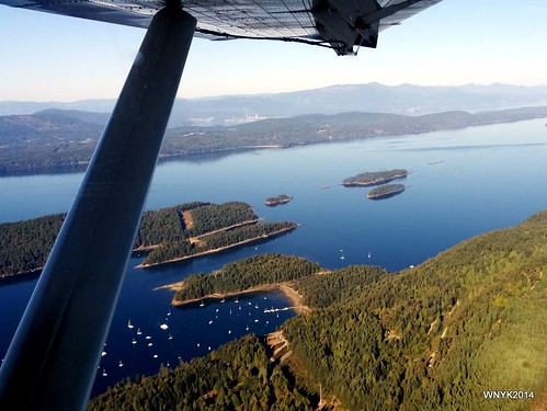 View from a Seaplane I