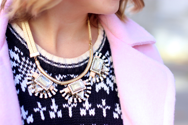no rest for bridget statement necklace