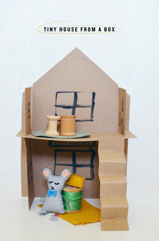 tiny house from a box