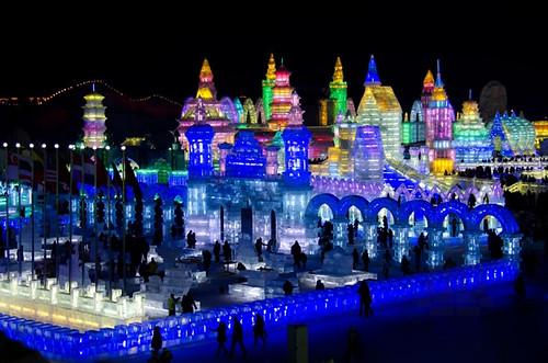Harbin Ice Festival 010415