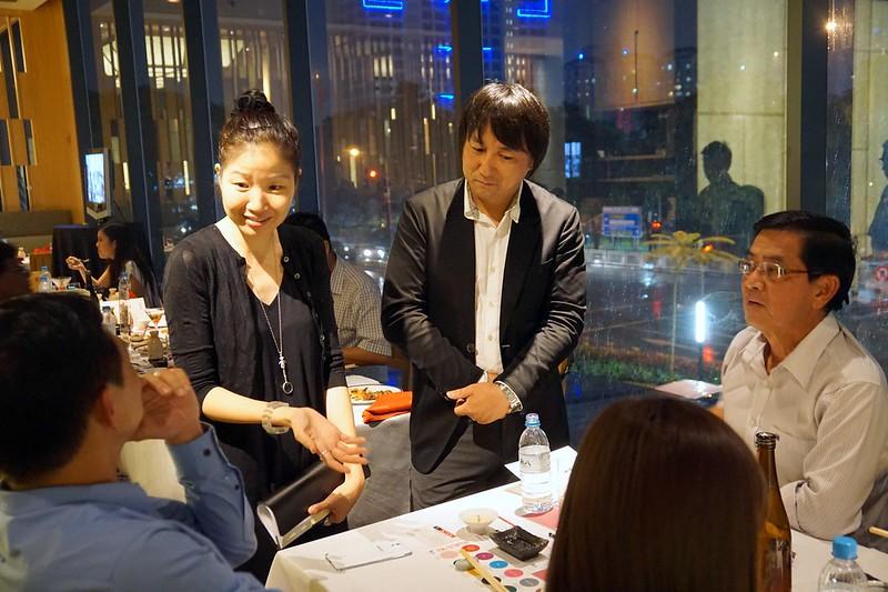 Kampachi Japanese restaurant - KANPAI! With Sake Masters -015