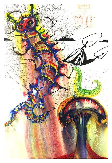 006-Consejos de la oruga azul-Salvador Dali-via William Bennett Modern