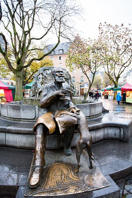 Bruxelles - Le bourguemestre Charles Buls