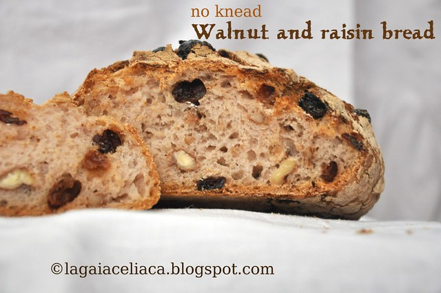 walnut and raisin bread fetta