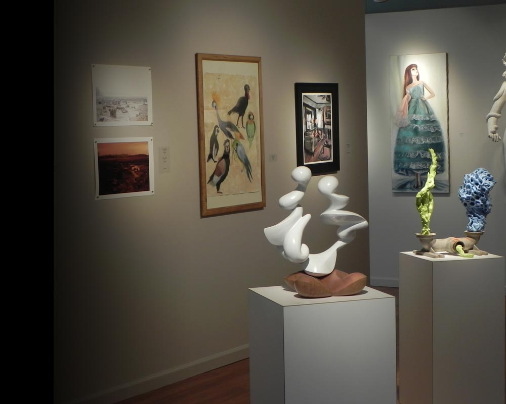 Visions 30th Annual Student Juried Exhibition Installation View